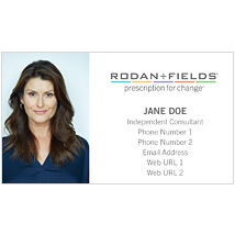 One sided business cards with photo rodanfields one sided business cards with photo thumbnail colourmoves Image collections