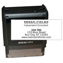 Rodan + Fields Self-Inking Stamp